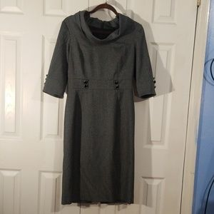 Antonio Melani Grey Dress